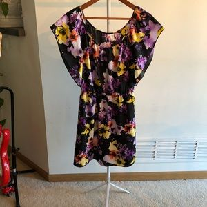 6 Degrees Floral Print Dress